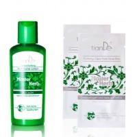 Купи противовоспалительный лосьон для лица серии Master Herb – В ПОДАРОК 2 очищающих пластыря для носа