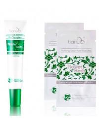Купи гель для лица «Биокомплекс» серии Master Herb на выбор – В ПОДАРОК 2 очищающих пластыря