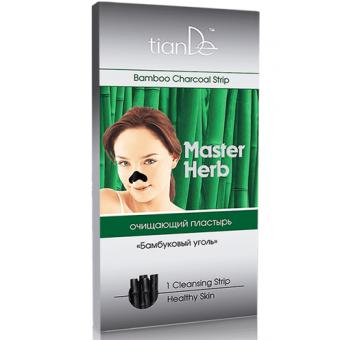 Очищающий пластырь для носа бамбуковый уголь  1шт