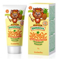 Детская зубная паста «Ананас» с растительными ферментами