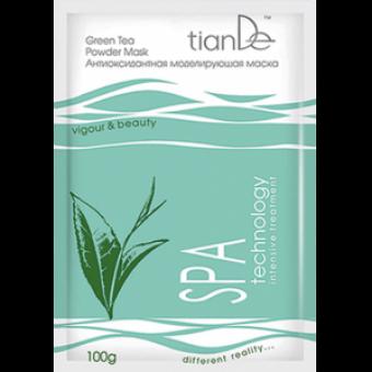 Антиоксидантная моделирующая маска «Зеленый чай»