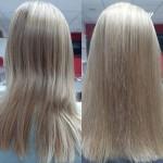 Біоламінування волосся засобами ТіанДе