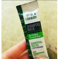 Шампунь-маска с кератинами для окрашенных волос ТианДе