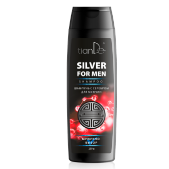 Шампунь с серебром для мужчин