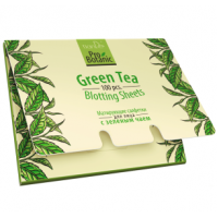 Матирующие салфетки для лица с зеленым чаем 100 шт.
